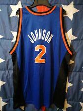 SIZE 52 New York Knicks NBA Basketball Shirt Jersey Champion Johnson #2