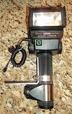Sunpak Auto 522 Thyrster Flash p cord AA battery holder custom bracket Works!