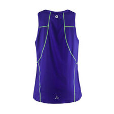 Craft Focus Cool Singlet Running Vest Multisport Mens Race Kit RRP £35 NOW £9.99