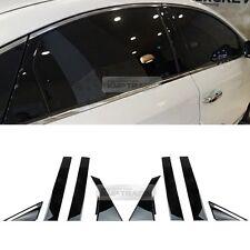 Genuine Parts High Glossy Black Pillar Garnish Kit for HYUNDAI 15-17 Sonata i45