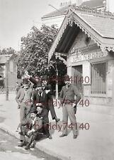 Superbe Photographie - 20cm x 30 cm - 1890 - Octroi de Saint Cloud