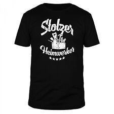 FABTEE Stolzer Heimwerker Handwerker Hobby Geburtstag Vatertag Fun Herren Shirt