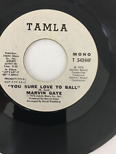 MARVIN GAYE You Sure Love to Ball TAMLA WHITE LABEL PROMO T54244F