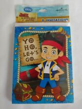 Jake and the Never Land Pirates Invitations  New Free Shipping