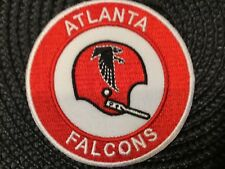 """Atlanta Falcons Vintage embroidered iron on Patch 3"""" X 3"""""""