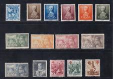 SPAIN AÑO 1951 MNH NUEVO SIN FIJASELLOS ESPAÑA - EDIFIL 1091/1105 (SIN 1088/90)