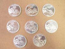 Olympics Nagana 1998 Slammers/Medallions Pogs/Milkcaps Lot/ Set Of (8) Awesome