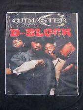 Vintage CUTMASTER C Welcome To D-Block Part 4 Rap Hip Hop T Shirt XXL (RARE)!!!