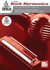 Rock Harmonica School Of The Blues Lesson Song Book New
