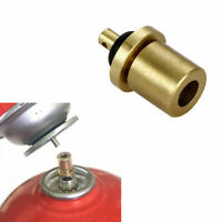 Outdoor Stove Gas Cylinder Bottle Refill Adapter Refilling Propane Camping P3Y6