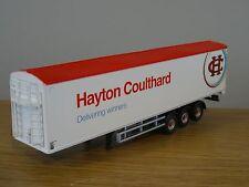 OXFORD DIECAST HAYTON COULTHARD WALKING FLOOR TRUCK TRAILER MODEL 76SET45 1:76
