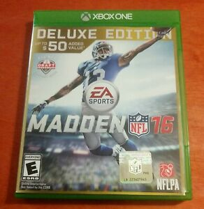 Madden NFL 16 Microsoft Xbox One EA Sports Electronic Arts Football Everyone
