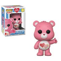 "New Pop Animation: Care Bears - Love A Lot Bear 3.75"" Funko Vinyl VAULTED"