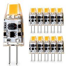 10 Pack G4 1W Capsule LED bulbs 12V-24V AC 10V-30V DC for RV Caravan Motorhomes