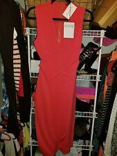 Rehab Coral Bandage Midi Dress