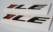 3x Chevy Camaro 1LE Stickers / Vinyl / Decal - 2012 2013 2014
