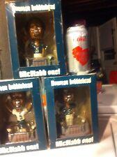 Donovan McNabb 2004 Eagles Bobblehead  Lot Of Four, 2 W Green Jerseys 2 W White