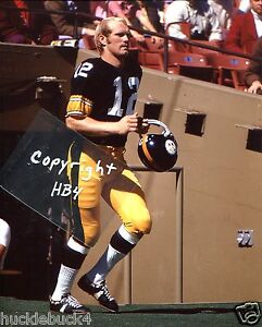 TERRY BRADSHAW photo in action Pittsburgh Steelers HOF (c) #2
