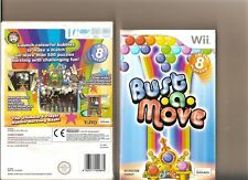 BUST A MOVE NINTENDO WII BUBBLE BUSTING PUZZLER