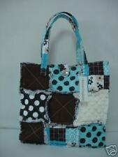Patchwork Rag Bag, Patchwork Tote, Cotton Patchwork Bag