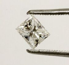 GIA certified loose princess cut diamond .72ct SI1 D 5.36x4.79x3.46mm