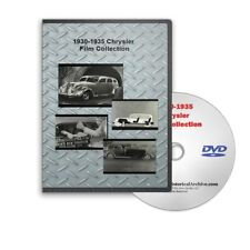 1930 - 1935 Chrysler + Dodge Sales Promotional Film  Collection - C117