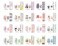 16pcs New DIY Nail Wraps Polish Stickers Patch Foils Art Decals Adhesive