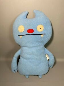 """Ugly Doll Gato Deluxe 15"""" 2007 Plush Stuffed Doll Vintage Pretty Ugly Doll Blue"""
