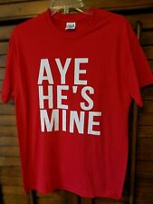 NWOT Anvil Cotton Fun Tee Shirt Red Med