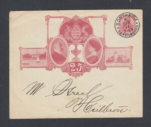 GERMANY 1911 25TH ANNIVERSARY 10 PFG POSTAL STATIONERY COVER SONTHEIM HEILBRON