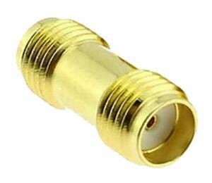 1x Conector Adaptador SMA Hembra a SMA Hembra