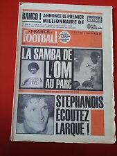 FRANCE FOOTBALL du 11/03/75 n°1510 SAINT ETIENNE COUPE DE FRANCE 16 éme