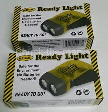 2 Mayday Ready Light Emergency Survival Bug Out Bag Led Bulbs Doomsday