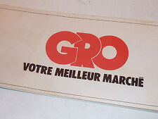 vintage LOT BON DE REDUCTION Marché Gro ANCIEN SUPERMARCHE MATCH distribution