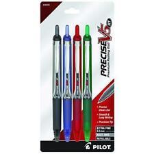 Pilot Precise V5 Rt Refillable Amp Retractable Liquid Ink Rolling Ball Pens Extra