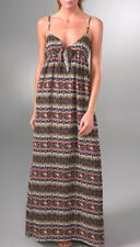 $118 Mink Pink 'Angelina' Floral Print Maxi Long Cami Dress XS NEW