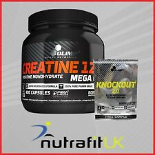 OLIMP NUTRITION CREATINE MONOHYDRATE 1250 400 CAPS + KNOCKOUT 2.0 SAMPLE