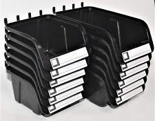 Wallpeg Pegboard Bins 12 Pack Hooks To Peg Board Organize Hardware Accessories W