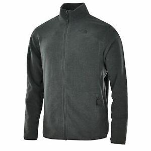 Men's The North Face 100 Glacier Fleece Zip Jacket Grey