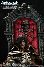 SPACE PIRATE CAPTAIN HARLOCK & THRONE Anime/Manga_HOT TOYS 1:6 Scale MMS223_NRFB