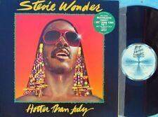 Stevie Wonder ORIG OZ LP Hotter than July EX '80 Motown Funk Soul