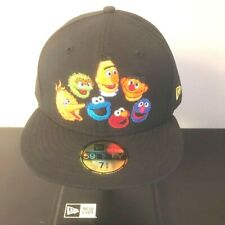 New Era Japan 59fifty Fitted 5950 Cap Sesame Street elmo big bird hat cap