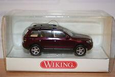 Wiking 06304030, VW Touareg, bordeaux-metallic, neu, OVP