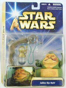 Star Wars ROTJ Jabba's Palace Jabba The Hutt Action Figure Hasbro 2004 MOC