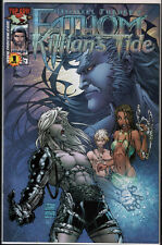 Fathom Killian's Tide #1 US Top Cow Michael Turner Holo Foil Variant Cover NM+