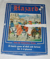 Hazard Board Game from Canterbury Tales Unused - Past Time