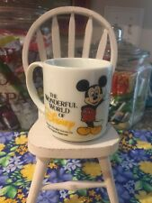 Vintage Disney Mickey Mouse Tv Show Coffee Mug Tv Channel 43 Fl Wmod Collectible