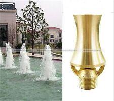 Brass Cascade Cedar Style Nozzle Head Waterscape Fountain DN15 DN20 S4