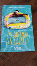 2016 SDCC COMIC CON EXCLUSIVE FOX POSTER THE LAST MAN ON EARTH WILL FORTE
