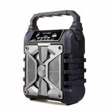 Karaoke Wireless BLUETOOTH Tragbarer Lautsprecher Radio USB TF FM Microphone